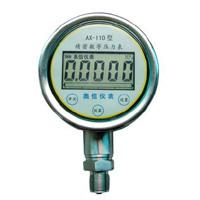 数字压力表 精密数字压力表 高精密压力表 精密压力表 AX-110S数字精密压力表