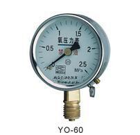氧气压力表 乙炔压力表 浸油压力表