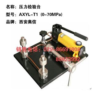 压力校验台AXYL-T1 压力校验泵AXYL-T1