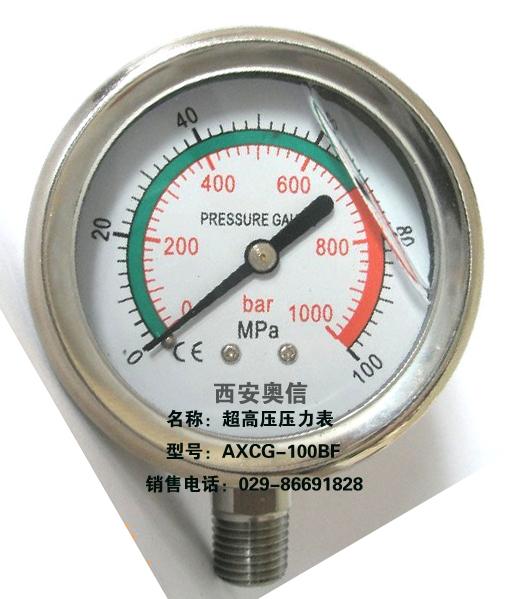 100MPa高压压力表 160MPa高压压力表 200MPa高压压力表 250MPa高压压力表 280MPa高压压力表 300MPa高压压力表 350MPa高压压力表 400MPa高压压力表 500MPa高压压力表 超高压压力表