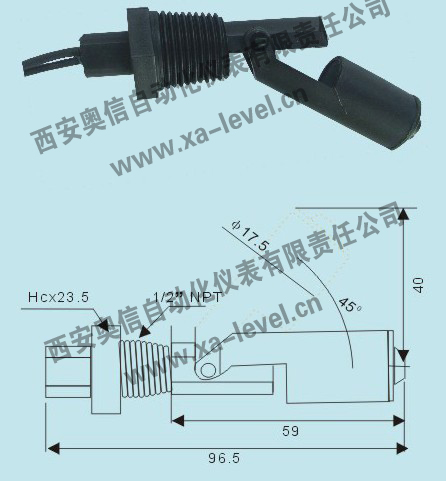 液位控制器RFC6 小型浮球液位控制器RFC6