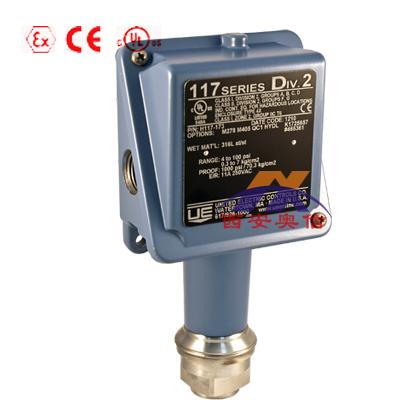 美国UE温度开关E117-1BS E117-2BS E117-3BS E117-4BS