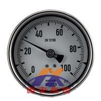 德国WIKA 耐震双金属温度计A5500 轴向