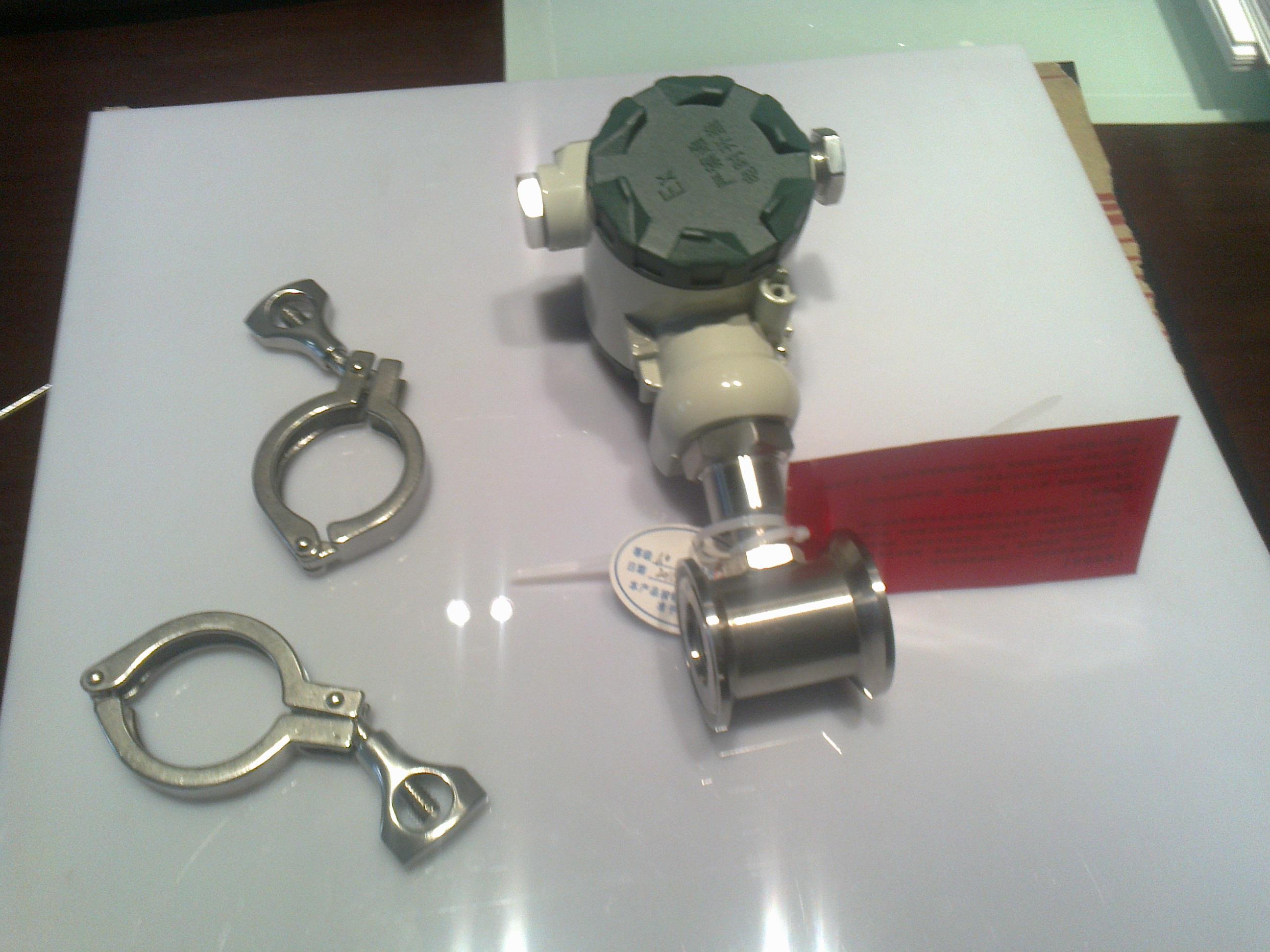 纯净水卫生卡箍涡轮流量计LWS