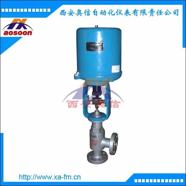 高压调节阀 电动阀 ZDLS-16 角型阀
