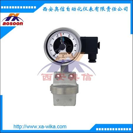 WIKA电接点差压表 DPGS43.100 电接点压差表