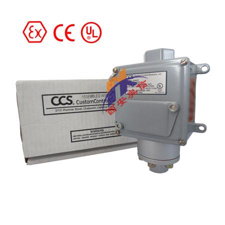 美国CCS机械式压力开关 604G3 现货供应