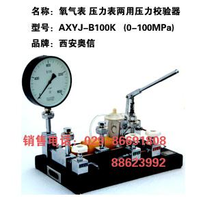 压力校验泵 AXYJ-B100K 氧气表校验器