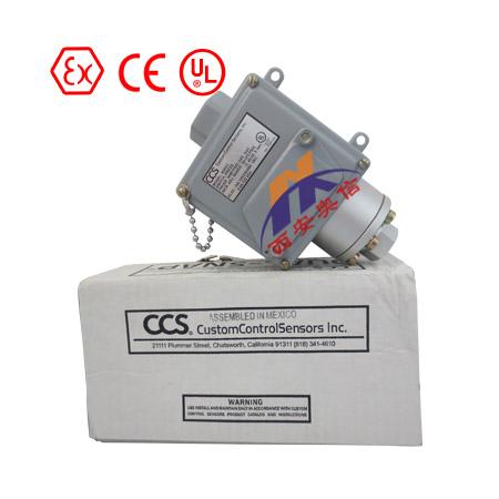美国CCS压差开关604DZ2-7011机械式不锈钢压差开关
