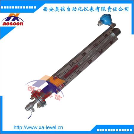 磁翻板液位计 UHZ-528SAPXC1A0 磁翻柱液位计