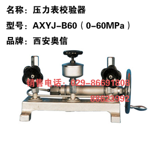 AXYJ-B60 高压压力校验器 271.11