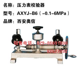 AXYJ-B6 真空校验器 压力校验台