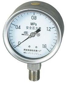 YTQ-100、YTQN-100,不锈钢安全压力表