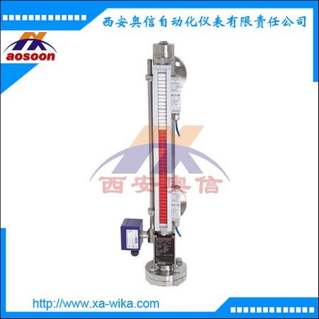 科普乐KSR磁翻板液位计 磁柱式液位变送器 德国WIKA授权代理