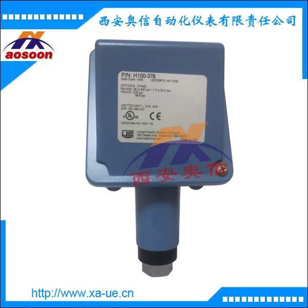 H100-358,H100-361,H100-376压力开关 焊接316膜片 美国UE开关代理