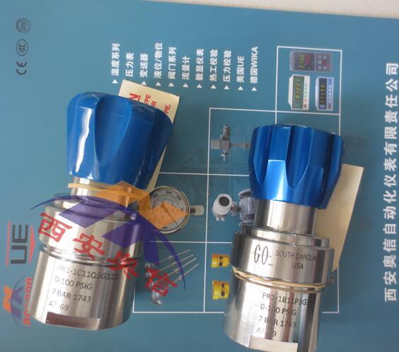 美国GO减压阀PR1-1C11A3G111过程减压器