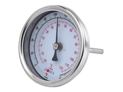 可调零 轴向双金属温度计