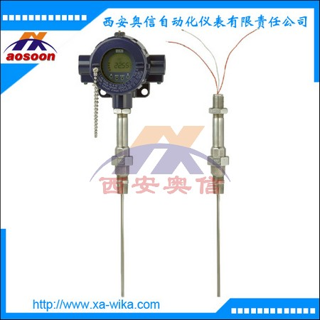 TR12隔爆型热电阻 威卡温度传感器代理 可带显示 PT100