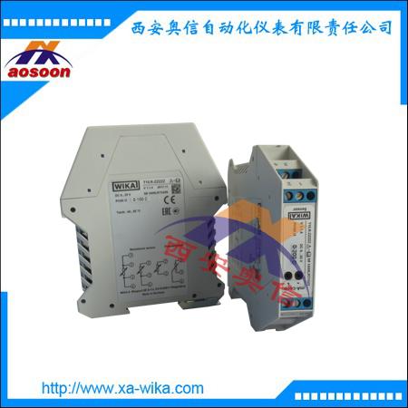 T15-H威卡温度变送器 WIKA温度模块 顶装圆形温度变送模块