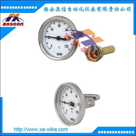 轴向双金属温度计A46.50, A46.063, A46.80, A46.100威卡代理 铜
