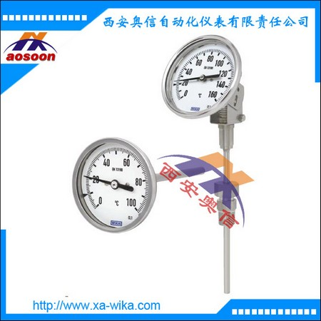 TG54双金属温度计 威卡就地显示温度表 WIKA中国