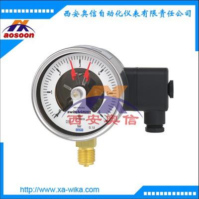 威卡PGS21.100电接点压力表 PGS21.160开关量压力表 WIKA压力表