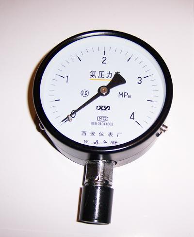 YA-100YA-150氨用压力表西安仪表
