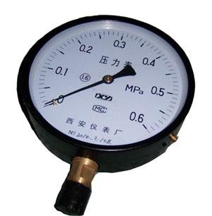 弹簧管压力表Y-40Y-60Y-100Y-150