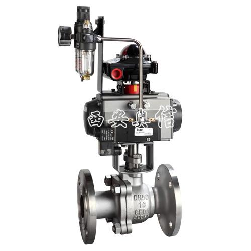 气动球阀Q641F 气动球阀 QF641F-