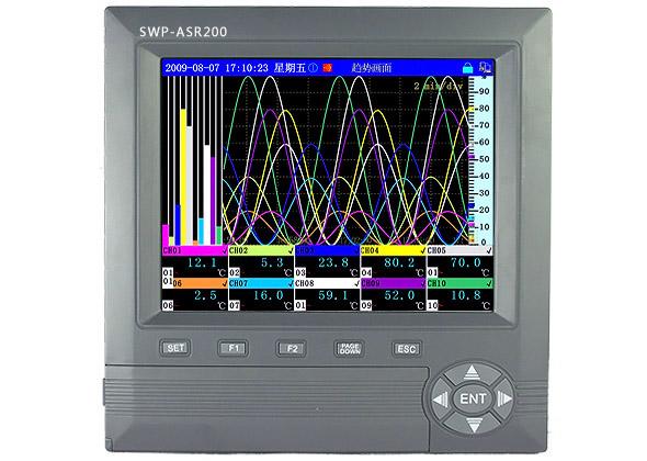 SWP-ASR206 SWP-ASR216 SWP-ASR224 SWP-ASR248无纸记录仪