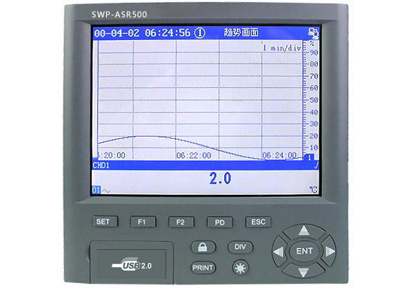 SWP-ASR502 SWP-ASR506 SWP-ASR508 SWP-ASR512无纸记录仪