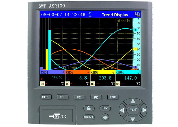 SWP-ASR100多语言型无纸记录仪 SWP-ASR106 SWP-ASR112