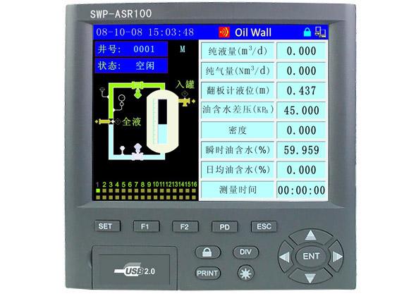 SWP-ASR100定制型无纸记录仪 SWP-ASR104 SWP-ASR108