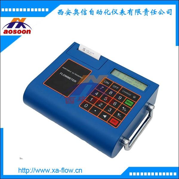 便携式超声波流量计 AXS100P 简装带打印超声波流量计 海水检测流