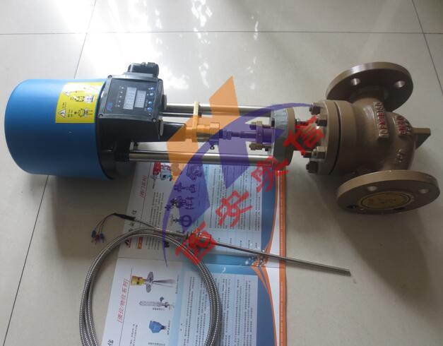 ZZWPE电动温度调节阀,ZZWPE-16,自力式电控温度调节阀