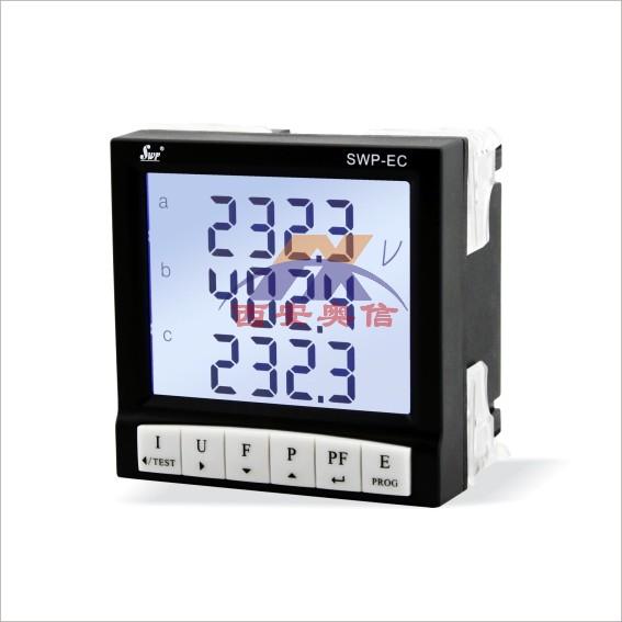 香港昌辉SWP-E交流直流电量显示控制仪SWP-EC801-02-05