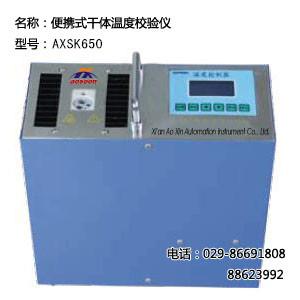 便携干体温度校验仪 AXSK650干体温度校验仪