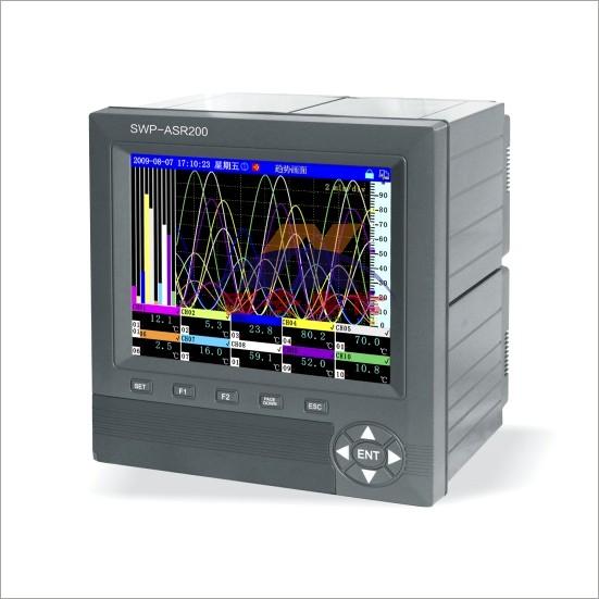 SWP-ASR200系列无纸记录仪 香港昌晖智能记录仪