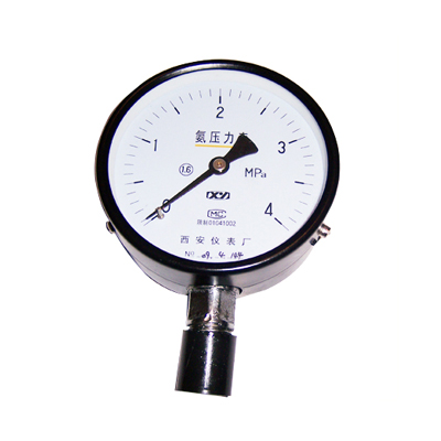 YA-100氨用压力表西安仪表厂