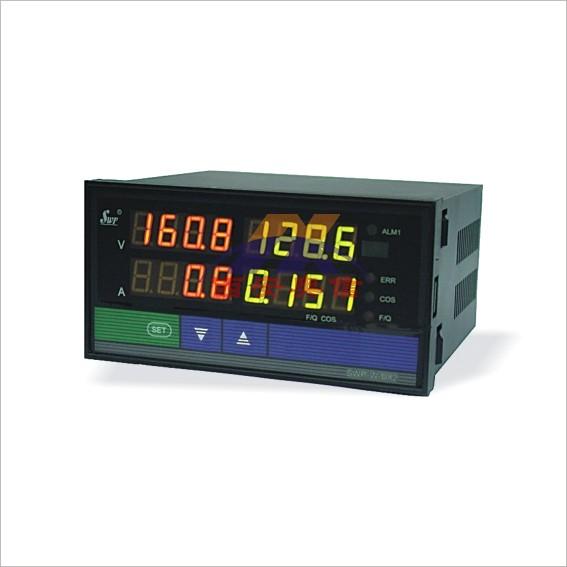 功率表 SWP-WC803-01-W3交流功率表 双屏三相功率表 电量表