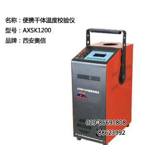 AXSK1200温度校验仪 便携干体温度校验仪AXSK1200