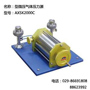 AXSK2000C压力校验仪表 AXSK2000C微压气体校验仪表
