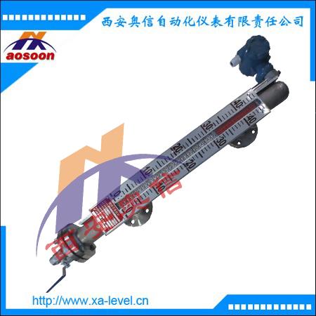 UHZ-528带远传磁翻板液位计 磁翻板液位计带远传4-20mA信号