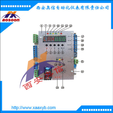 ASAP4-1电动执行器控制板 ASK电动执行器