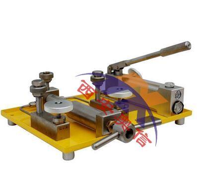 压力校验泵 AXYJ-B100K(0-100Mpa)氧气表 压力校验器