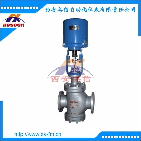 电动双座铸钢调节阀 ZDLN-16 DN50 电子式电动调节阀