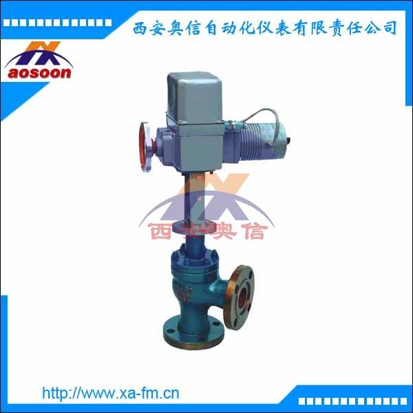 电动单座角型调节阀 ZAZS-16 电动阀