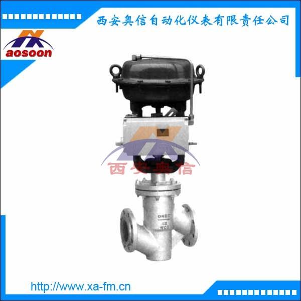 气动薄膜衬氟单座调节阀 ZJHPF-16W DN50气动阀