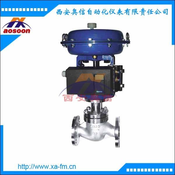 ZJHP气动薄膜单座调节阀 ZJHP-16 DN40气动调节阀