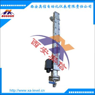 保温型磁翻板液位计 电加热磁翻板液位计